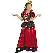 DISONIL Disfraz Reina de Corazones Niña Talla L 04327c8e076