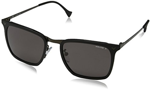 police-mens-spl154n-sunglasses-grey-semi-matt-black-one-size