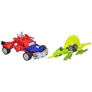 Transformers - A6165 - Construct-Bots - Dinobot Warriors - Optimus Prime et Gnaw