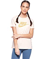 Nike W NSW Tee Essntl Icon Futura T- T-Shirt Femme
