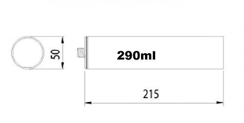 Bostik Montagekleber 1K MS Polymer Klebdichtstoff 290ml Kartusche grau