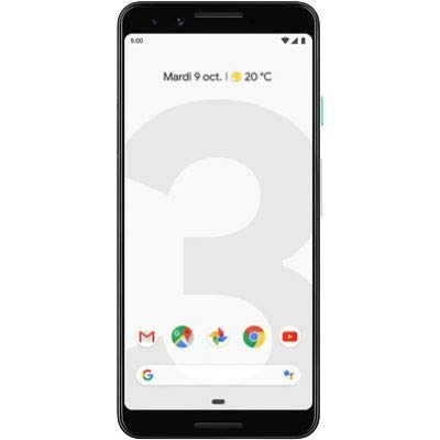 Google Pixel 3, Smartphone, 64 Gb, Clearly White