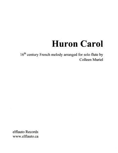 Huron Carol for solo flute