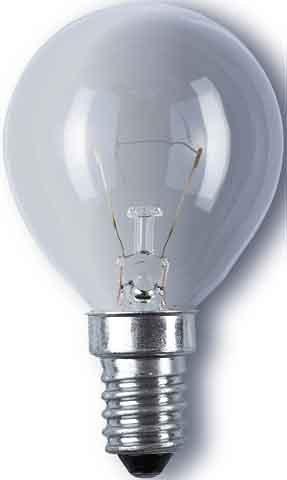 Osram Glühlampe Classic P, Tropfenform, klar, 15 Watt, E14 F - Cl-glühlampe