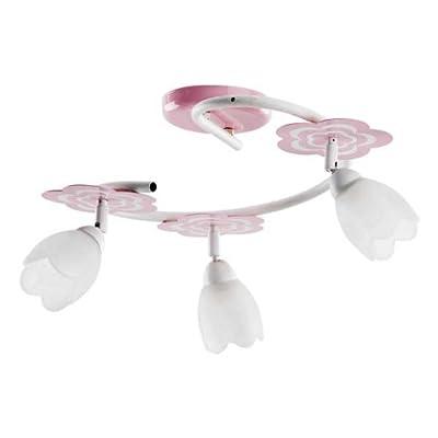 ALFA MARIA Pink/Rosa 3 S Deckenleuchte Deckenlampe Kronleuchter Kinderzimmerleuchte Kinderzimmerlampe von ALFA bei Lampenhans.de