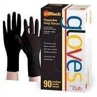 Jetblack Vinyl Gloves, Black, X-Large, 90 Count by Product Club preisvergleich bei billige-tabletten.eu