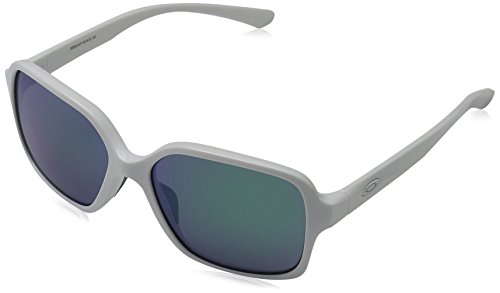 Oakley Dispute Rectangular Sunglasses Polished White image