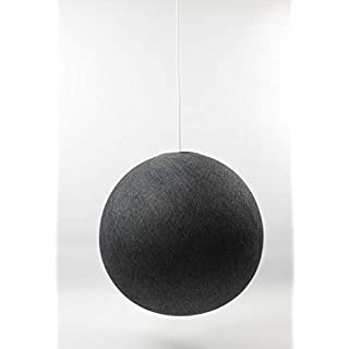 Cotton Ball Lights Single Pendant Lamp, Cotton, Antra, 36cm