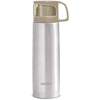 Buy Milton Thermosteel Crown 600 Flask, 500ml, Silver (Cap ...