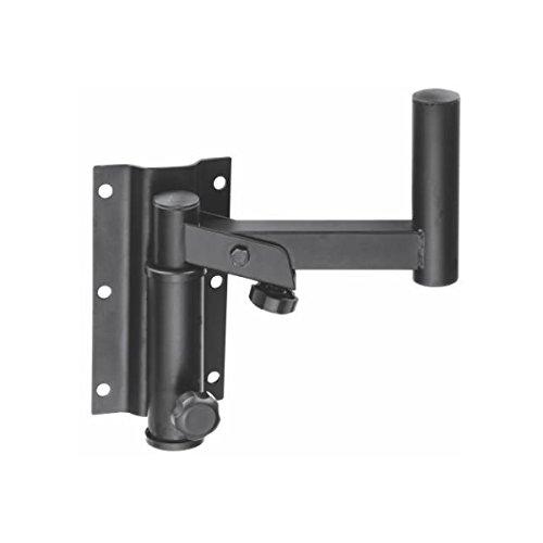 MX Universal Adjustable Wall Mount Speaker Bracket Stand w/ Angle Tilt Rotation for Speaker tilt 180 degrees