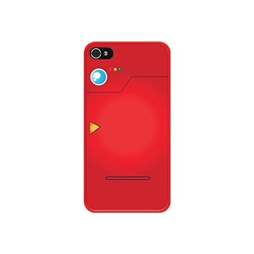Coque Pokemon Pokedex - Nico - Modèles: iPhone 4/4S - Contour: Rouge