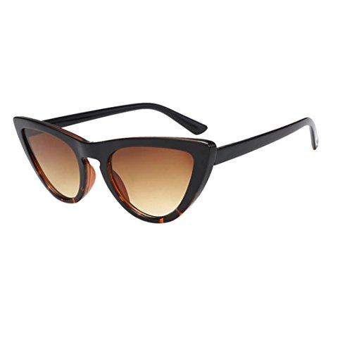 Occhiali da sole da donna uomo polarizzati - beautyjourney occhiali da sole donna rotondi vintage sunglasses cat eye - donne lente film cateye frame sfumature acetato telaio occhiali da sole uv (g)