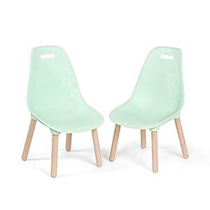 B. toys by Battat BX1634Z - Juego de sillas (2 Unidades), Color Verde Menta