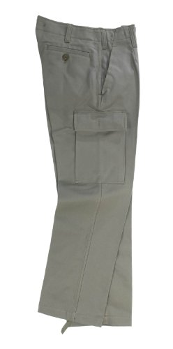 GZK Original BW-Moleskin Feldhose in steingrau/oliv 3068/2 in Größe 64