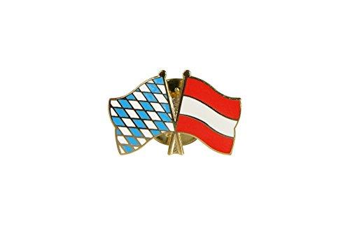 Flaggenfritze® Freundschaftspin Bayern - Österreich