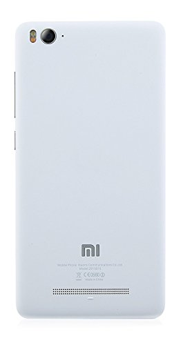 Red Qube Back Replacement Cover for Xiaomi Mi4i - White