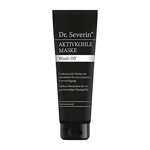 DETOX Black Mask | Dr. Severin Kur Komplex Aktivkohle Maske | Verfeinerter Teint + porentiefe Reinigung | Hautschonend | Schnelle Wirkung mit Zufriedenheitsgarantie. Nur 30 Cent pro Anwendung