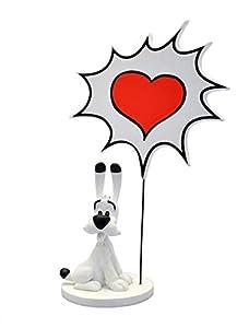 Plasplug Toy SAS pla00131Asterix: ideafix con Bocadillo: Corazón