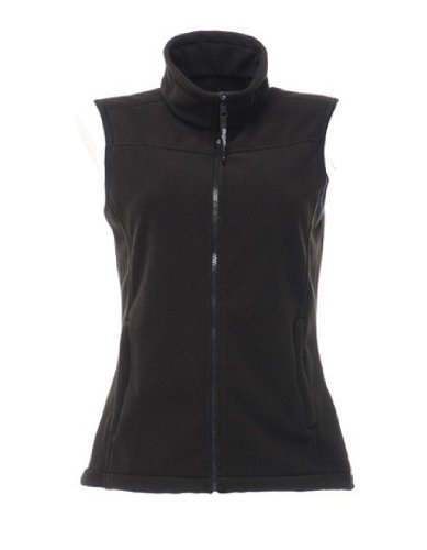 Regatta Damen Fleece Weste Harber II Bodywarmer (Größe: XS - 3XL), Black , Gr. L