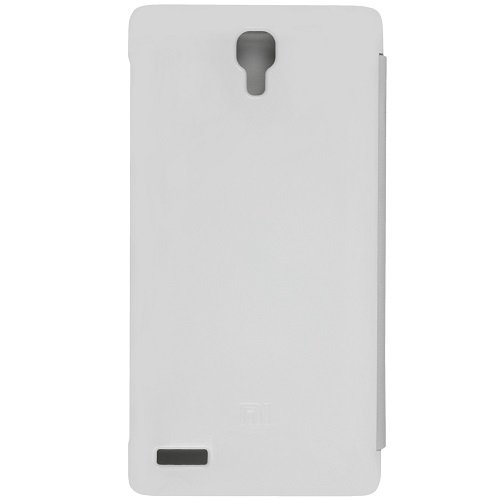 Casotec Premium Flip Case Cover for Xiaomi Redmi Note - White  available at amazon for Rs.99