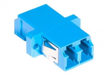 Traversée coupleur fibre optique monomode LC/LC duplex