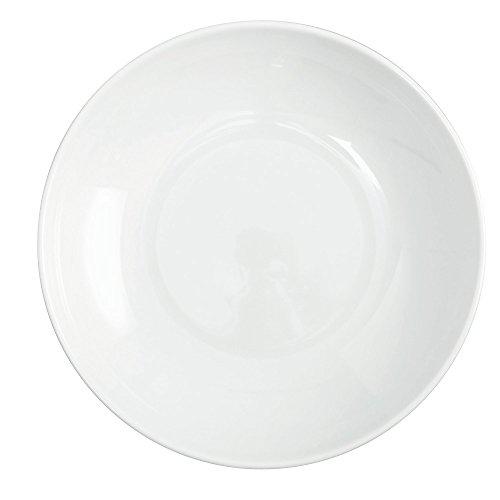 PORCELAINE BLANCHE Assiette à couscous 'napoli' (lot de 6) - 4001025