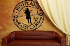 Preisvergleich Produktbild Wandtattoo Stempel Scotland