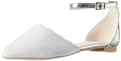 Another Pair of Shoes Blaire1, Women's Ballet Flats, Grey (Light Grey/silver1882), 3 UK (36 EU)