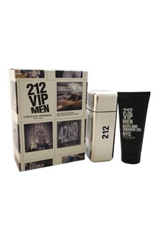 CAROLINA HERRERA 212 VIP MEN Eau De Toilette 100 ML VP.+ GEL 100 ML TRAVEL SET OFERTA (precio: 73,96€)