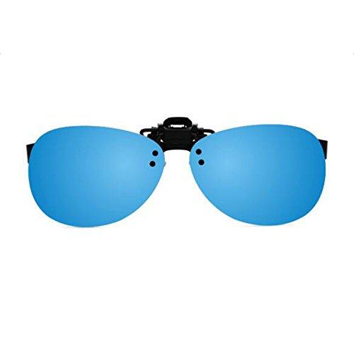 Sonnenbrille Sonnenbrille Clip polarisierte Sonnenbrille Herrenbrille Frauen reflektierende Kurzsichtigkeit Sonnenbrille Fahrer HD kurzsichtig Sonnenbrille Clips Männer und Frauen Universal