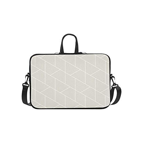 Geometrische Pentagon Gitter Aktentasche Laptoptasche Messenger Schulter Arbeitstasche Crossbody Handtasche Für Geschäftsreisen