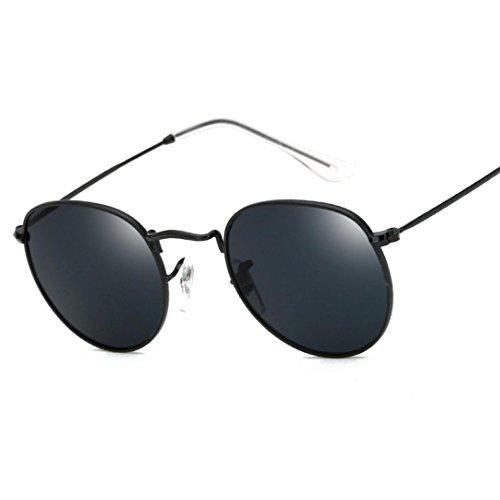Preisvergleich Produktbild HLHN Damen Herren Clubmaster Cateye Sonnenbrille Vintage Retro Mode Reise-Sonnenbrille