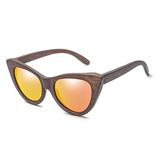 ZXL Die Sonnenbrille Bambus Holz Holz Hochglanz Sonnenbrille persönlichkeit.