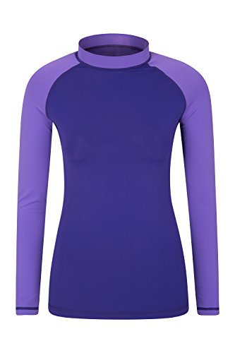 Mountain Warehouse Womens Rash Vest Upf 50 with Quick Drying Soft /& Comfortable