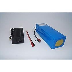 48V 10Ah 480Wh Akkupack Pedelec E-Bike Scooter Lithium-Ionen Batterie Battery incl. BMS + Ladegerät
