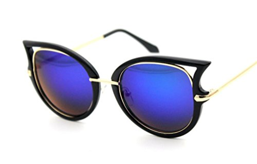 XYLUCKY New Style Mode Frauen Katzenauge Sonnenbrille D Large Frame Universal polarisierende Sonnenbrillen , g