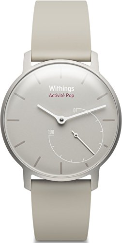 Withings Activite Pop - Monitor de actividad, color beige