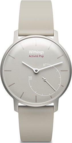 Withings Aktivitätstracker Pop Smart Watch Aktivitäts und Schlaf tracker, Sand, 70075001