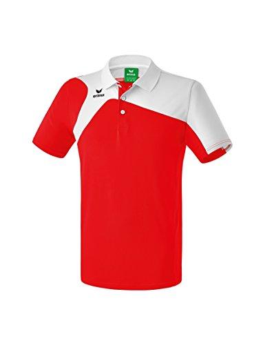 Erima Kinder Club 1900 2.0 Polo, rot/weiß, 128