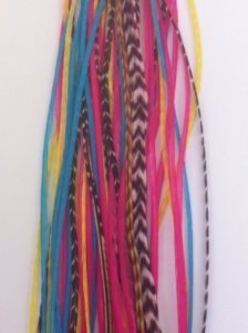 SEXY SPARKLES-Extension Feather 12,70 cm (5