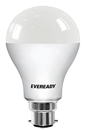 Eveready Base B22D 12-Watt LED Bulb (Pack of 1, Cool Day Light)