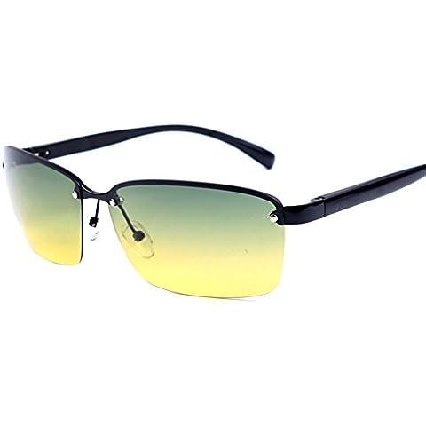 ZWX Occhiali da sole polarizzati/Visione notturna/Lente ottica