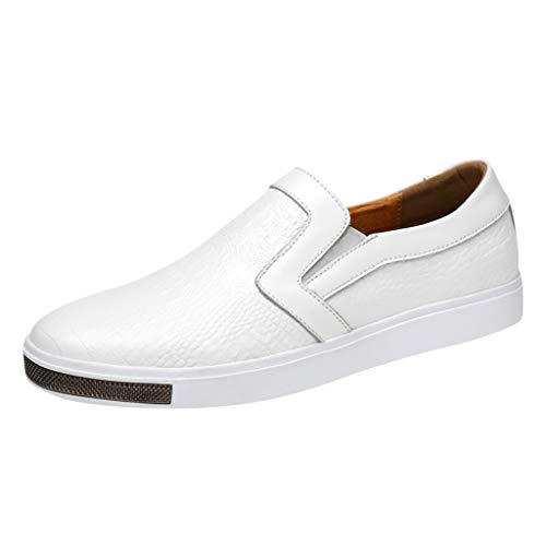 YU'TING - Scarpe da Barca Uomo, Classic Scarpe da Uomo Mocassini Slip On Pelle Penny Loafers Casual Eleganti Scarpe da Guida Loafers EU 38-44