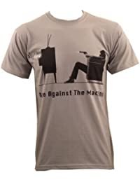 Rage Against The Machine Fuck You Won't Do What You Tell Me Camiseta Gris