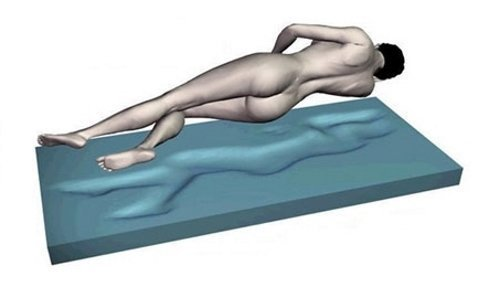 supply24 Gel/Gelschaum Matratzenauflage Topper Höhe 9 cm, 80/90/100 x 190/200 cm, mit Amicor pure Bezug, Auflage für Matratze soft/weich = Schlafen wie auf einem Wasserbett ohne seine Nachteile