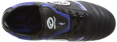 Optimum Tribal, Chaussures de Rugby Garçon noir - Noir/Bleu