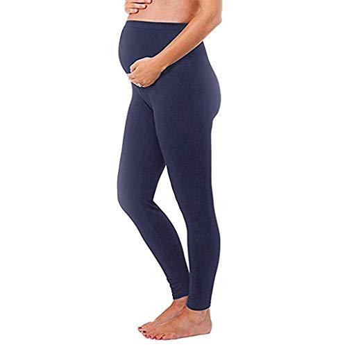 Pantaloni Premaman Topgrowth Pantaloni di maternità Leggings Lungo Stretchy Collant Vita Alta Donna Incinta Pantaloni Gravidanza