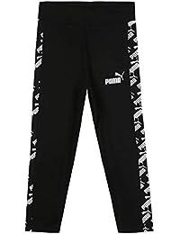 PUMA Amplified Leggings G Mallas Deporte, Niñas, Black, 128