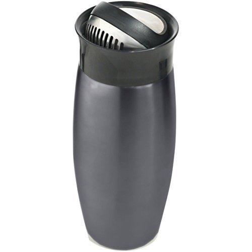 HOUDINI W2714 24oz Flip-Top Cocktail Shaker (Gunmetal Gray) Home Kitchen Furniture Decor by Houdini Flip-top-cocktail-shaker