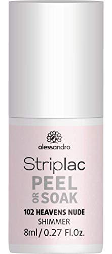 alessandro Striplac Peel or Soak 102 Heavens Nude, 8 ml